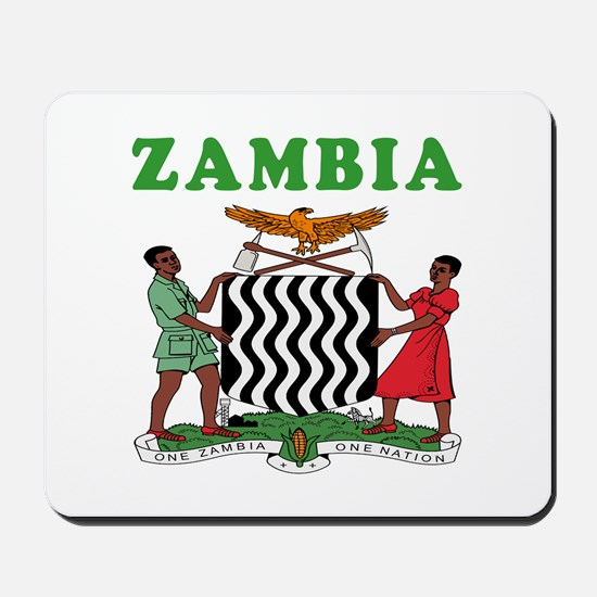Zambia Coat Of Arms Designs Mousepad