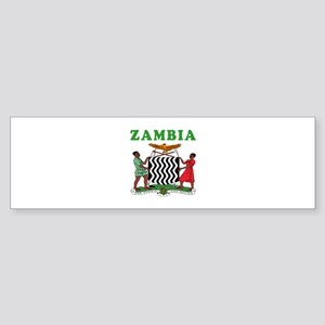 Zambia Coat Of Arms Designs Sticker (Bumper)