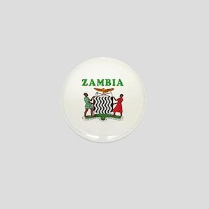 Zambia Coat Of Arms Designs Mini Button