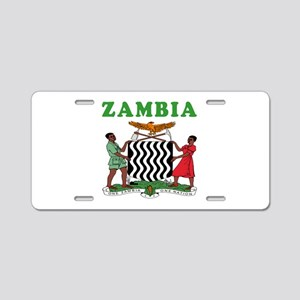 Zambia Coat Of Arms Designs Aluminum License Plate