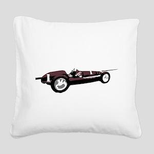 Boyle Maserati Indy Car Square Canvas Pillow