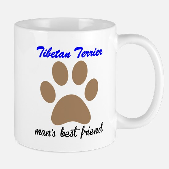 Tibetan Terrier Mans Best Friend Small Mug