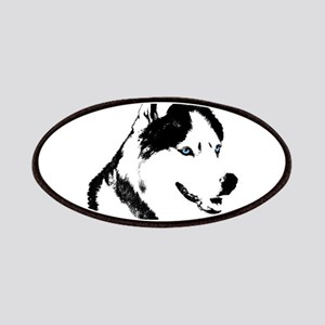 Siberian Husky Sled Dog Patches