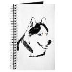 Siberian Husky Notebook Husky Sled Dog Journal