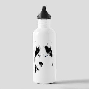 Siberian Husky Sled Dog Stainless Water Bottle 1.0