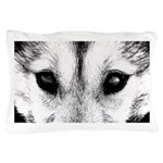 Husky Wolf Pillow Case Wolf Pup Pillow Case