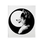 Siberian Husky Throw Blanket Sled Dog Blanket