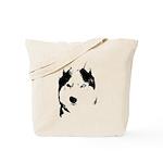 Siberian Husky Sled Dog Tote Bag