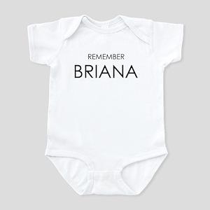 Remember Briana Infant Bodysuit