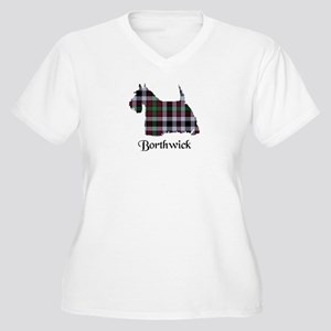 Terrier - Borthwick Women's Plus Size V-Neck T-Shi