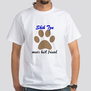 Shih Tzu Mans Best Friend T-Shirt