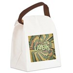 Layers Canvas Lunch Bag