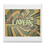 Layers Tile Coaster