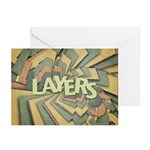 Layers Greeting Cards (Pk of 10)