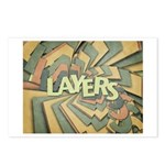 Layers Postcards (Package of 8)