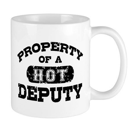 Property of a Hot Deputy Mug