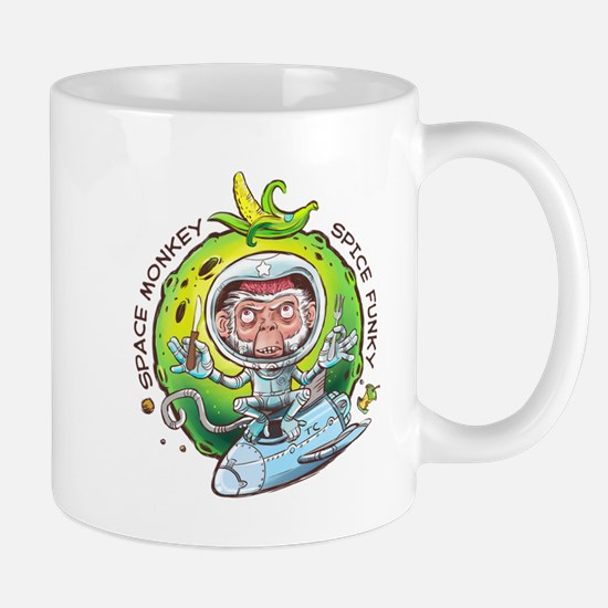 space monkey Taza