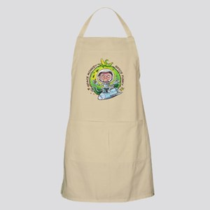 space monkey Apron