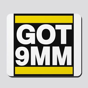 got 9mm yellow Mousepad