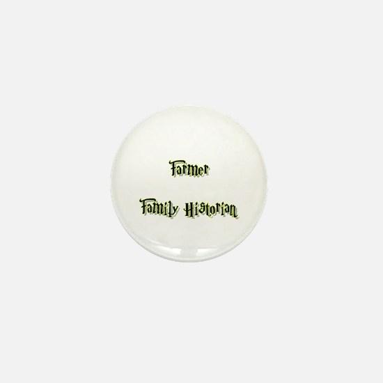 Farmer Family Historian Mini Button