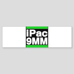 ipac 9mm green Bumper Sticker