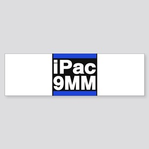 ipac 9mm blue Bumper Sticker
