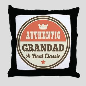 Classic Grandad Throw Pillow