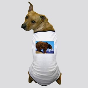 A Grizzly View Dog T-Shirt