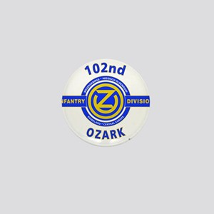 102nd Infantry Division Ozark Mini Button
