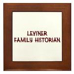 Leviner Family Historian Framed Tile