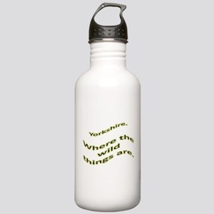 Yorkshire - where the wild things are Water Bottle