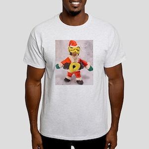 Santa Sloth Ash Grey T-Shirt