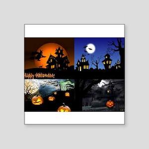 Halloween Scenes Sticker