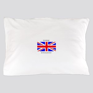 York England Pillow Case