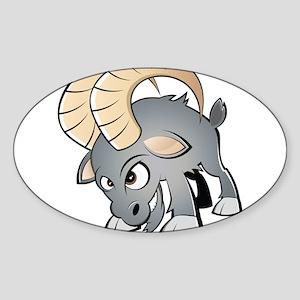 Cartoon Ram Sticker