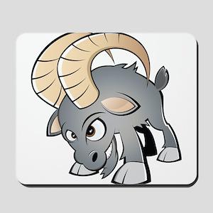 Cartoon Ram Mousepad