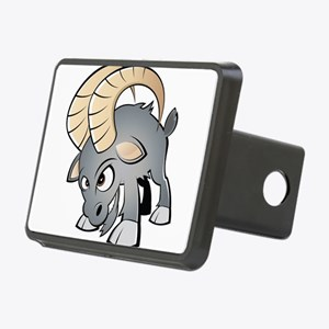 Cartoon Ram Hitch Cover