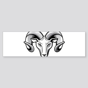 Classic Ram Bumper Sticker