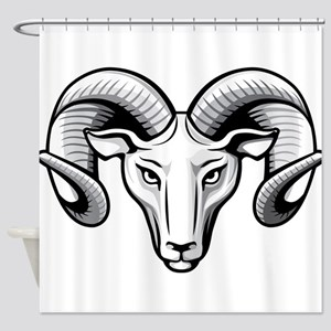 Classic Ram Shower Curtain