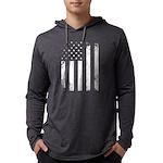 USA Flag Mens Hooded Shirt