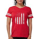USA Flag Womens Football Shirt