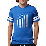 USA Flag Mens Football Shirt