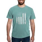 USA Flag Mens Comfort Colors Shirt