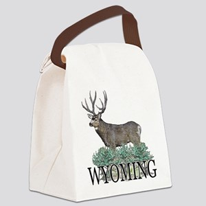 Wyoming buck Canvas Lunch Bag
