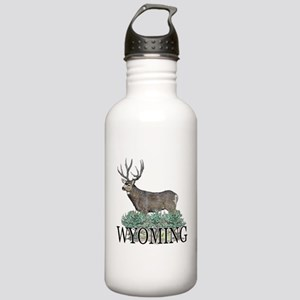 Wyoming buck Stainless Water Bottle 1.0L
