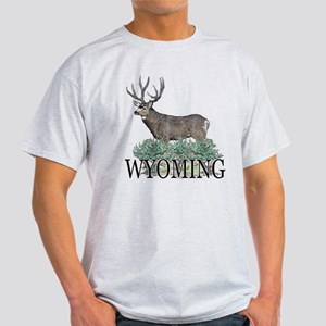 Wyoming buck Light T-Shirt