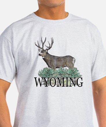 Wyoming buck T-Shirt