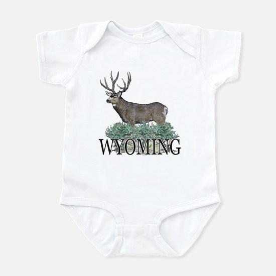 Wyoming buck Infant Bodysuit