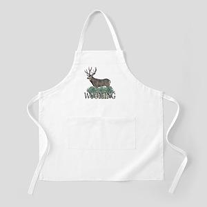 Wyoming buck Apron