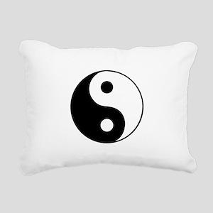 YingYang Rectangular Canvas Pillow
